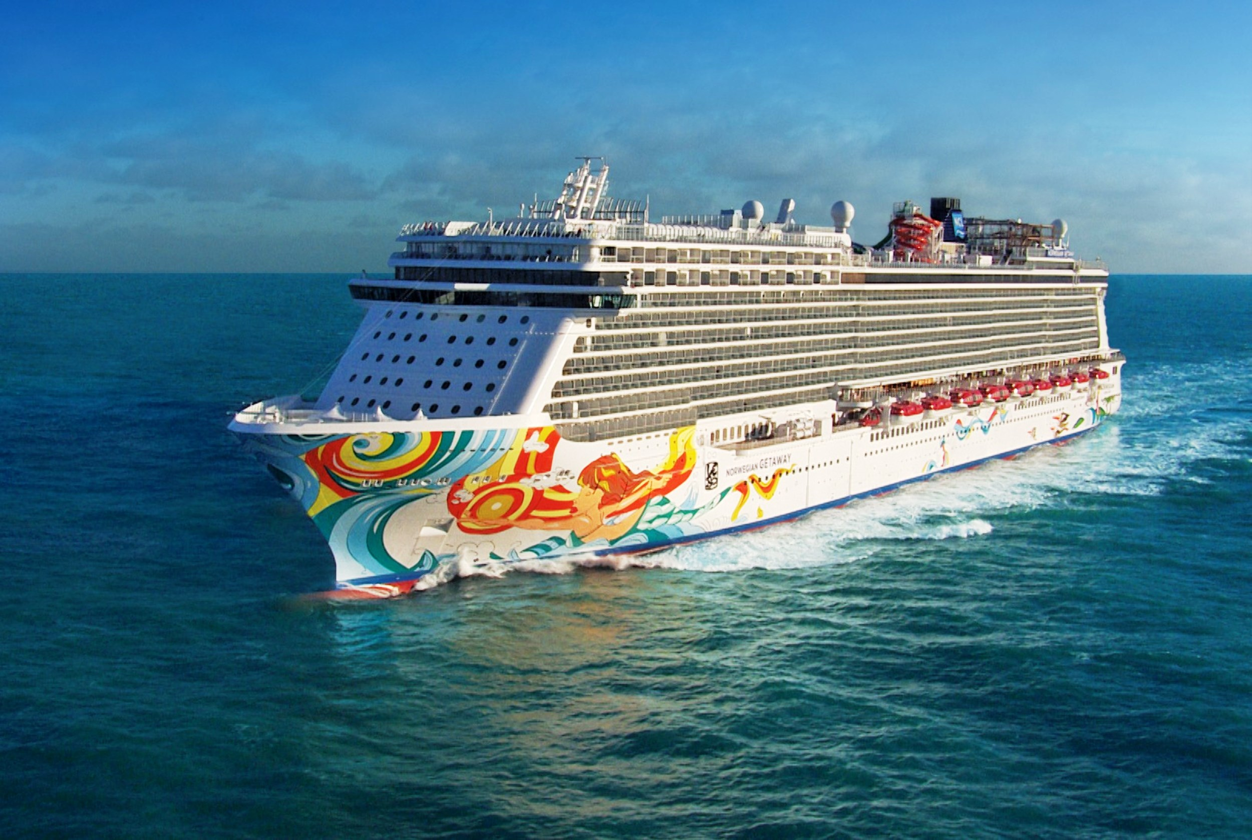 Norwegian Cruises Ship Norwegian Getaway Norwegian