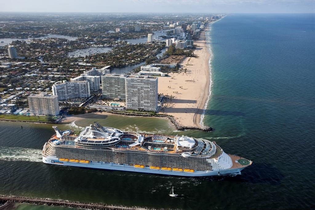 Royal Caribbean Cruises Ship Oasis Of The Seas
