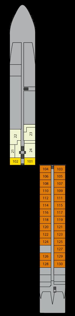 AROSA Silva Deck 1: Deck 1