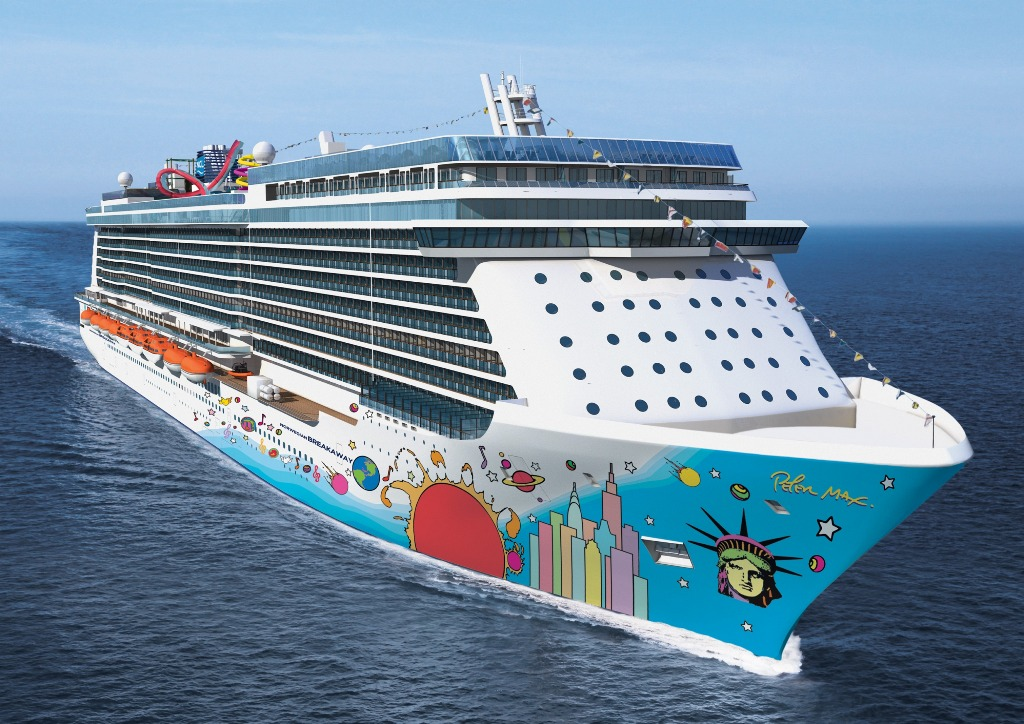 Norwegian Cruises Ship  Norwegian Breakaway  Norwegian