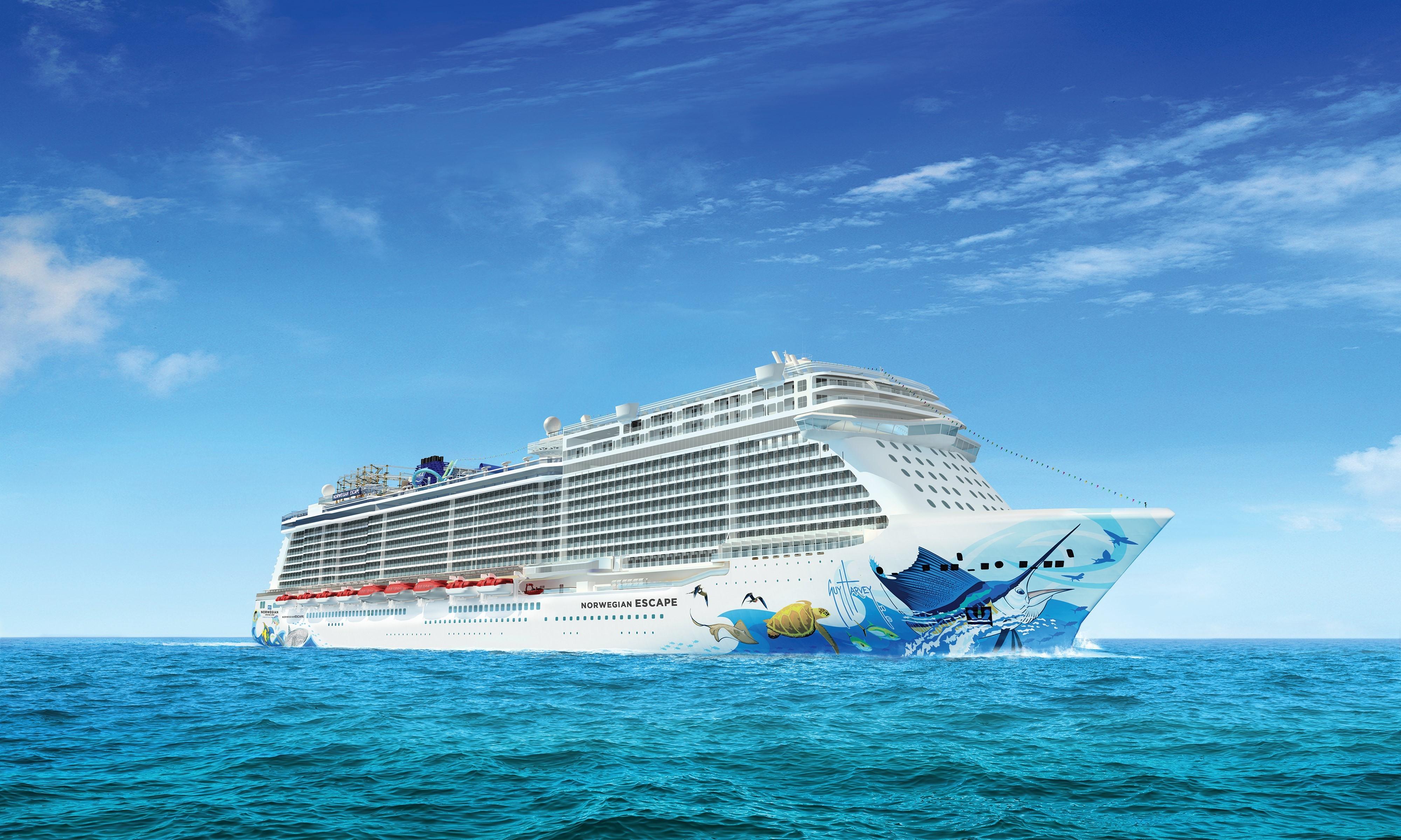Norwegian Cruises Ship Norwegian Escape Norwegian