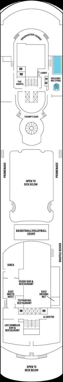 Norwegian Sun Deck 12: Deck 12