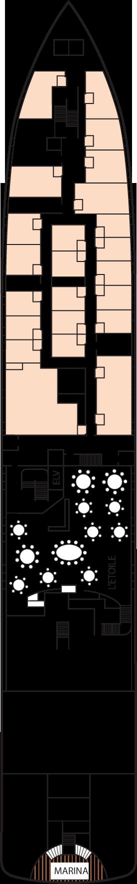 m/v Tere Moana Deck 2: Deck 2