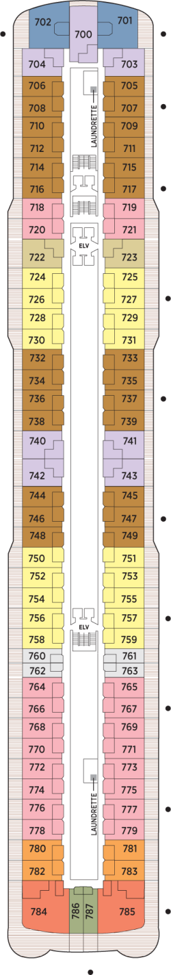 Seven Seas Explorer Deck 7: Deck 7