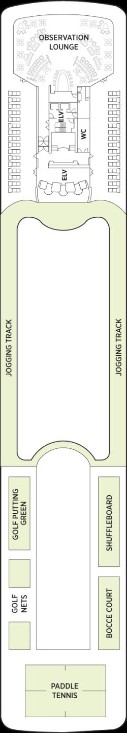 Seven Seas Mariner Deck 12: Deck 12