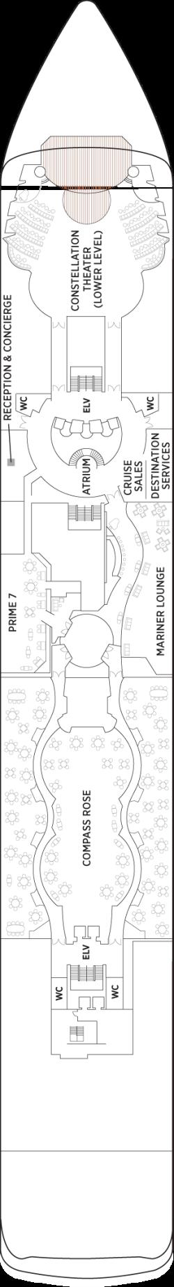 Seven Seas Mariner Deck 5: Deck 5