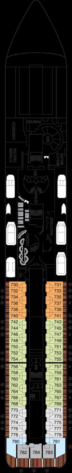 Seven Seas Mariner Deck 7: Deck 7