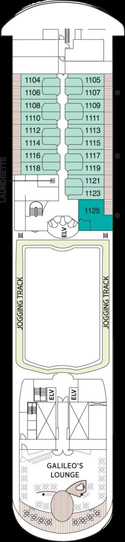 Seven Seas Navigator Deck 11: Deck 11