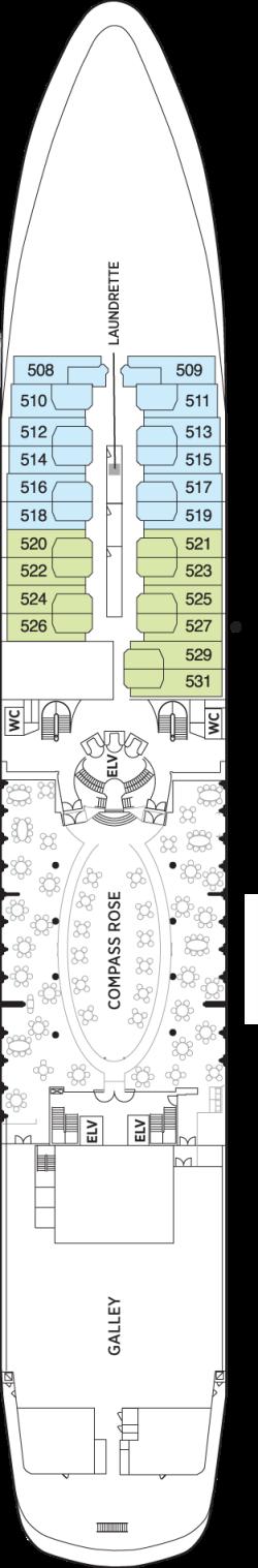 Seven Seas Navigator Deck 5: Deck 5