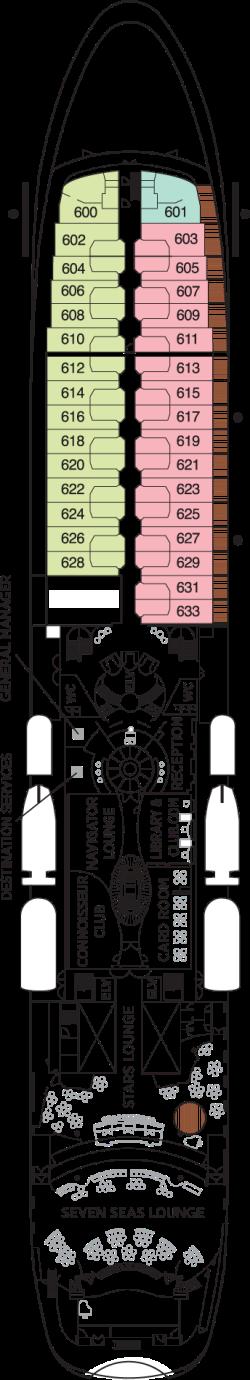 Seven Seas Navigator Deck 6: Deck 6