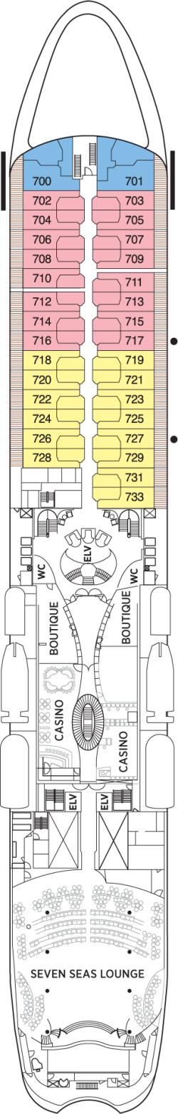 Seven Seas Navigator Deck 7: Deck 7