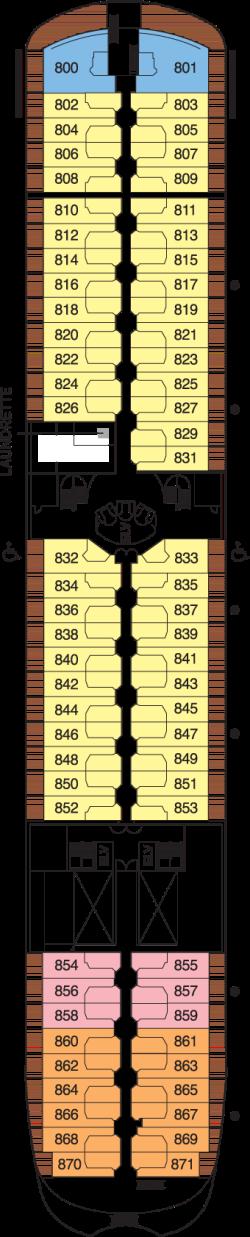 Seven Seas Navigator Deck 8: Deck 8