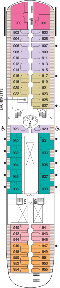 Seven Seas Navigator Deck 9: Deck 9