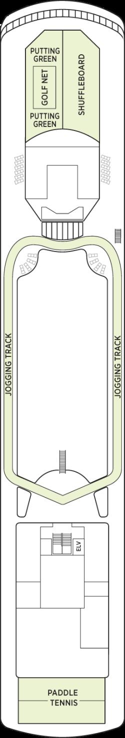 Seven Seas Voyager Deck 12: Deck 12