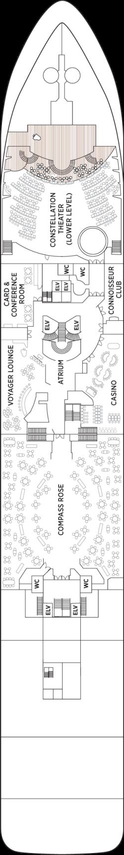 Seven Seas Voyager Deck 4: Deck 4