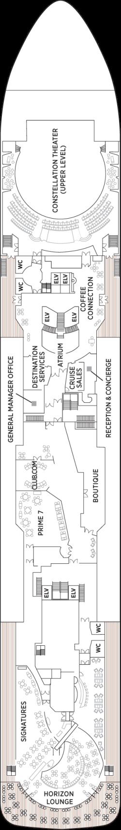 Seven Seas Voyager Deck 5: Deck 5
