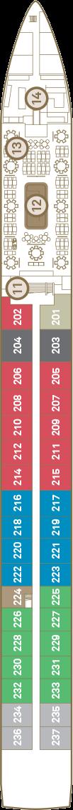 Scenic Amber Deck 2: Sapphire Deck