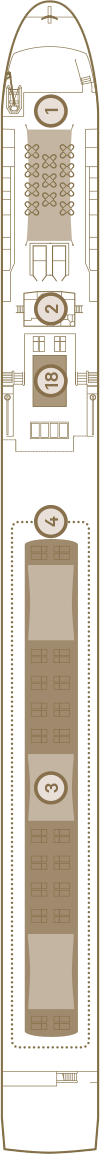 Scenic Amber Deck 4: Sun Deck