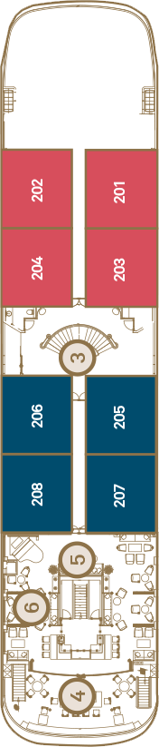 Scenic Aura Deck 2: Sapphire Deck