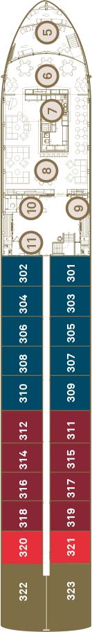 Scenic Azure Deck 3: Diamond Deck
