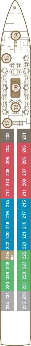 Scenic Diamond Deck 2: Sapphire Deck
