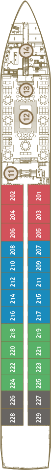 Scenic Gem Deck 2: Sapphire Deck