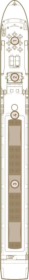 Scenic Gem Deck 4: Sun Deck