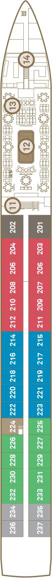 Scenic Jade Deck 2: Sapphire Deck