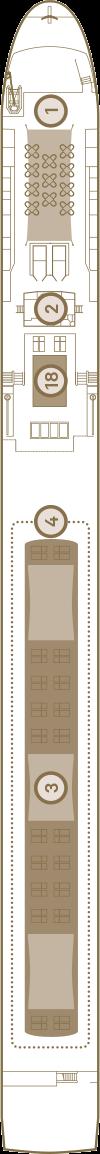 Scenic Opal Deck 4: Sun Deck
