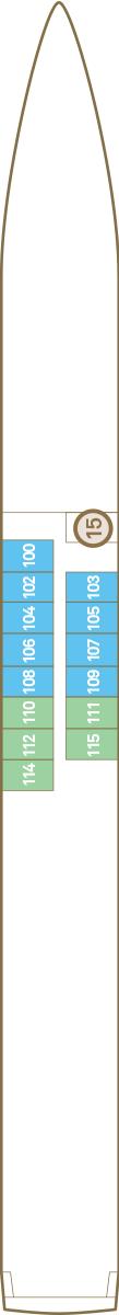 Scenic Pearl Deck 1: Jewel Deck