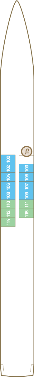 Scenic Ruby Deck 1: Jewel Deck