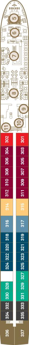 Scenic Ruby Deck 3: Diamond Deck