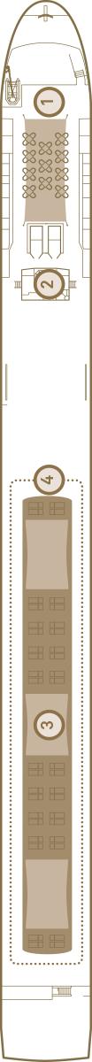 Scenic Ruby Deck 4: Sun Deck