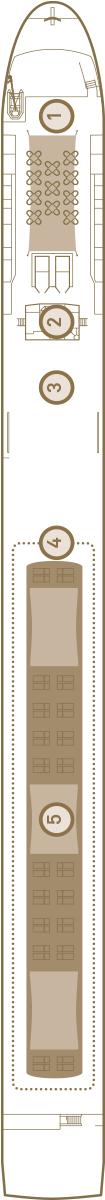 Scenic Sapphire Deck 4: Sun Deck