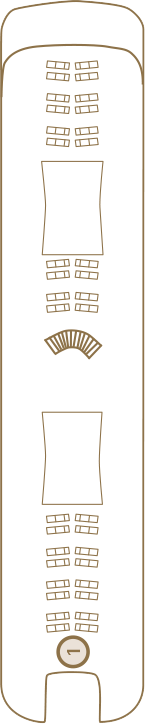 Scenic Spirit Deck 4: Sun Deck