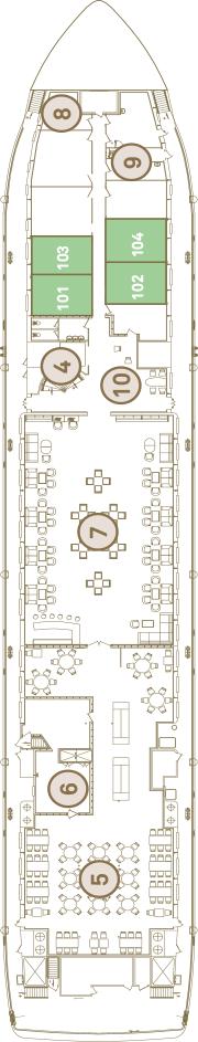Scenic Tsar Deck 1: Moskva Deck