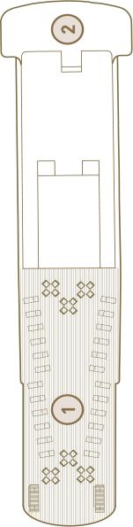 Scenic Tsar Deck 4: Onega Deck