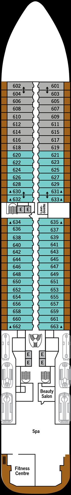 Silver Dawn Deck 6: Deck 6