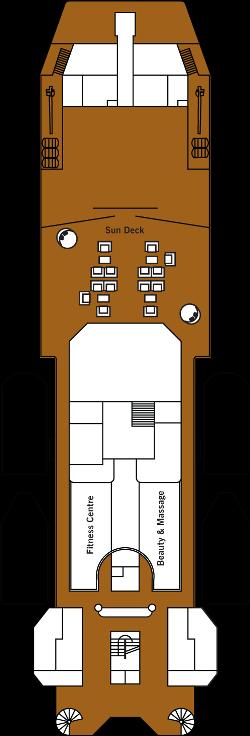 Silver Discoverer Deck 7: Deck 7