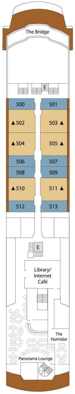 Silver Explorer Deck 5: Deck 5