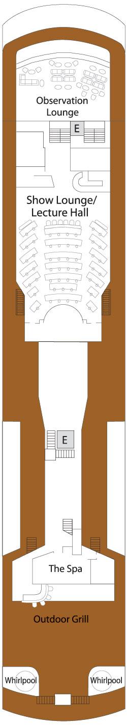 Silver Explorer Deck 6: Deck 6