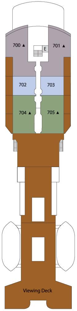 Silver Explorer Deck 7: Deck 7