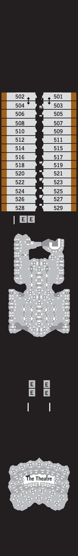 Silver Muse Deck 5: Deck 5