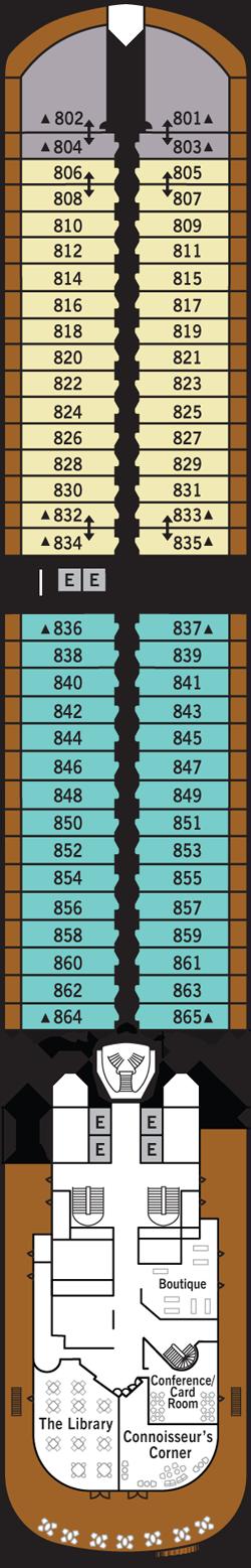 Silver Muse Deck 8: Deck 8