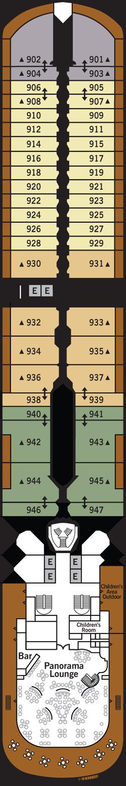 Silver Muse Deck 9: Deck 9