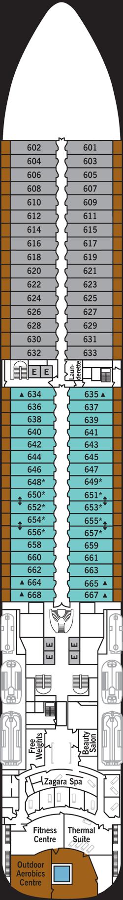 Silver Spirit Deck 6: Deck 6