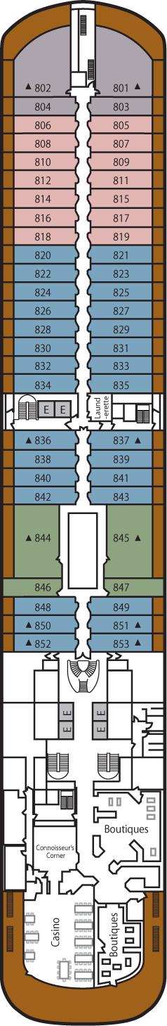 Silver Spirit Deck 8: Deck 8
