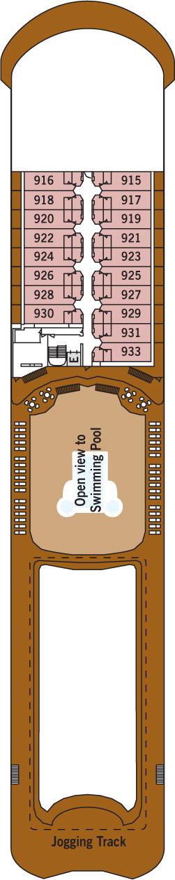 Silver Whisper Deck 9: Deck 9