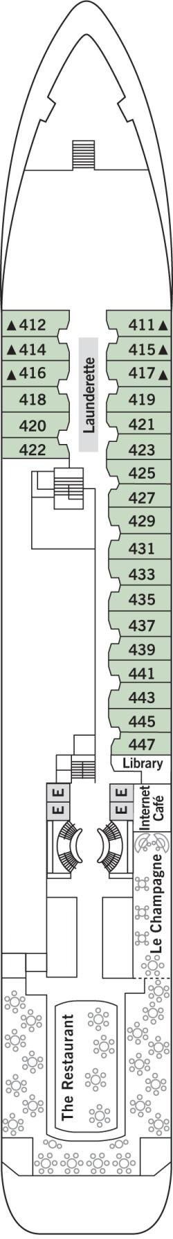 Silver Wind Deck 4: Deck 4