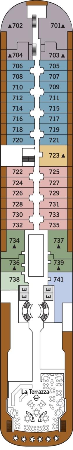 Silver Wind Deck 7: Deck 7